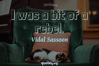 Photo Quote of I was a bit of a rebel.