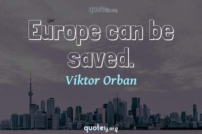 Photo Quote of Europe can be saved.