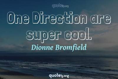 Photo Quote of One Direction are super cool.