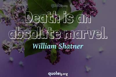 Photo Quote of Death is an absolute marvel.