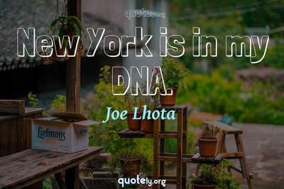 Photo Quote of New York is in my DNA.