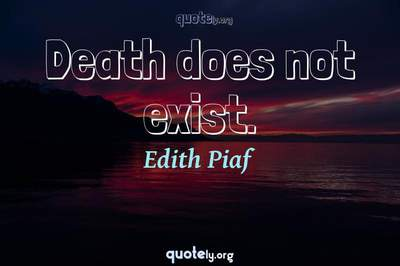 Photo Quote of Death does not exist.