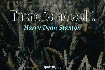 Photo Quote of There is no self.