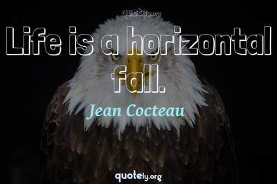 Photo Quote of Life is a horizontal fall.