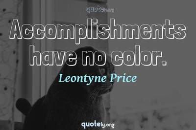 Photo Quote of Accomplishments have no color.