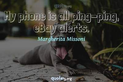 Photo Quote of My phone is all ping-ping, eBay alerts.