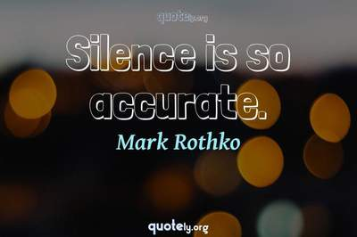 Photo Quote of Silence is so accurate.