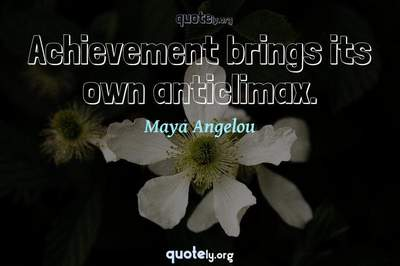 Photo Quote of Achievement brings its own anticlimax.