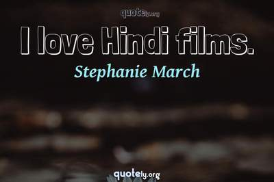 Photo Quote of I love Hindi films.