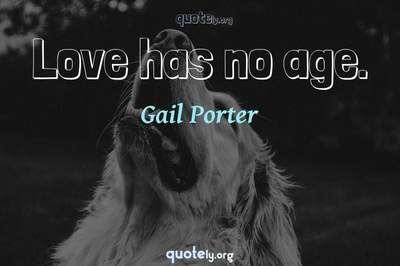 Photo Quote of Love has no age.
