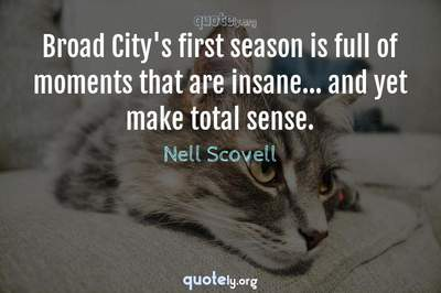 Photo Quote of Broad City's first season is full of moments that are insane... and yet make total sense.