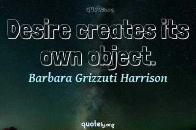 Photo Quote of Desire creates its own object.
