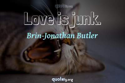 Photo Quote of Love is junk.