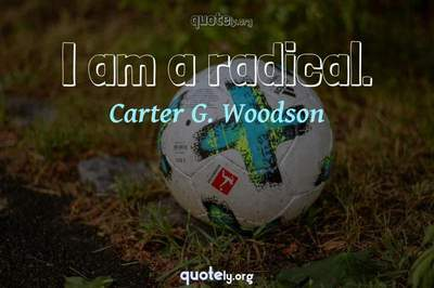 Photo Quote of I am a radical.
